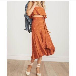 ISO!!! Faithfull the Brand Top + Skirt